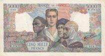 France 5000 Francs Empire Français - 03-05-1945 Série W.574-550