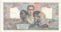 France 5000 Francs Empire Français - 05-04-1945 Série B.462 - SUP