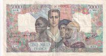 France 5000 Francs Empire Français - 05-04-1945 Série L.462 - TB