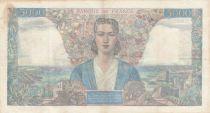 France 5000 Francs Empire Français - 09-07-1942 Série U.56 - TTB