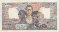 France 5000 Francs Empire Français - 16-05-1946 Série V.2340 - TTB