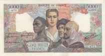 France 5000 Francs Empire Français - 18-04-1946 Série Z.2085