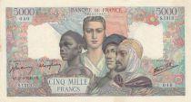 France 5000 Francs Empire Français - 27-09-1945 Série S.1313