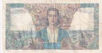 France 5000 Francs Empire Français - 31-05-1945 Série D.671 - TB