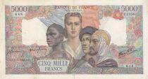 France 5000 Francs Empire Français - 31-05-1946 Série U.2356