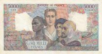 France 5000 Francs Empire Français - 31-05-1946 Série Y.2448-035
