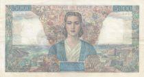France 5000 Francs Empire Français 01-02-1945 Série M.258 - TTB