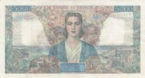 France 5000 Francs Empire Français 01-02-1945 Série P.261 - TTB