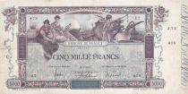 France 5000 Francs Flameng - 09-01-1918 Serial : Z.7 - VF