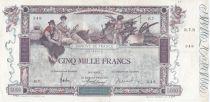 France 5000 Francs Flameng - 12-01-1918 Serial : R.7 - VF
