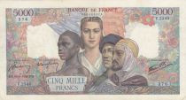France 5000 Francs France and colonies - 16-05-1946 Serial V.2340 - VF - P.103