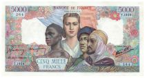 France 5000 Francs France and colonies - 28-03-1946 Serial T.1959 - VF