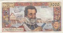 France 5000 Francs Henri IV - 06-06-1958 Série Z.19 - TTB +