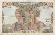 France 5000 Francs Terre et Mer - 01-02-1951 - Série C.44