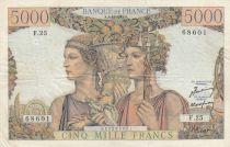 France 5000 Francs Terre et Mer - 03-11-1949 Série F.25