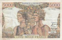 France 5000 Francs Terre et Mer - 07-02-1952 Série T.95