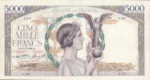 France 5000 Francs Victoire - 11-07-1935 Série G.36 - TTB