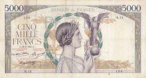 France 5000 Francs Victoire - 16-05-1935 Série R.15 - PTTB