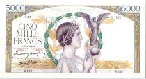 France 5000 Francs Victoire - 18-03-1943 Série E.1221