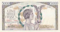 France 5000 Francs Victoire - 19-12-1940 Série D.465