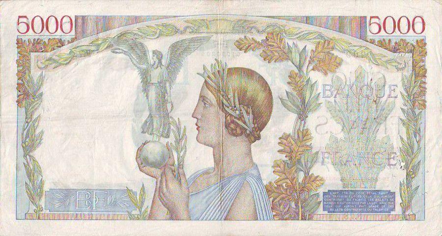 France 5000 Francs Victoire - 1938 - F78