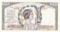 France 5000 Francs Victoire - 20-07-1939 - Série Y.237