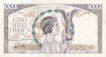 France 5000 Francs Victoire - 25-05-1939 Série E.200 - TTB
