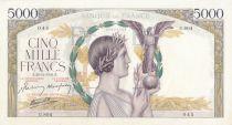 France 5000 Francs Victoire - 26-12-1941 Série U.804 - SPL