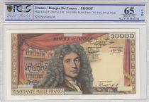 France 50000 Francs Molière - Epreuve - Neuf - PCGS 65 OPQ