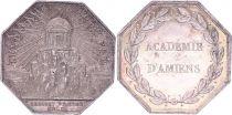 France Académie d\'Amiens - vers 1750 - Argent