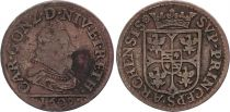 France Arches-Charleville Principality, Charles I of Gonzague - 1 Liard 1609 - F+