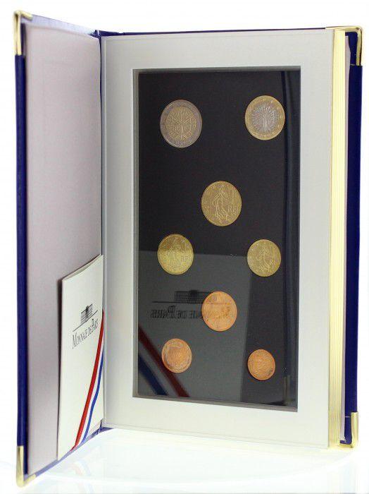 France BE.2002 Coffret BE 2002 - 8 pièces en Euros