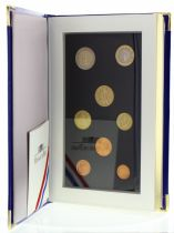 France BE.2002 Proof Set France 2002 - 8 coins in Euros