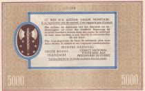 France Bon de Solidarité - Pétain - Avec Souche Annulé - 1941 / 1942