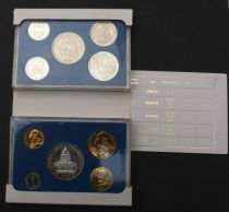 France BU.1986 Monnaie de Paris Proof set 1986 10 coins