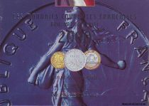 France BU.2000 Coffret BU 2000 - Monnaies Courantes