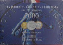 France BU.2000 Monnaie de Paris BU Set year 2000