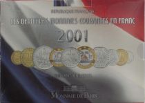 France BU.2001 Coffret BU 2001 - Monnaies Courantes