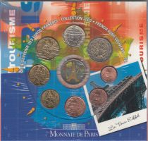 France BU.2003 Monnaie de Paris BU Set 2003 Eiffel Tower