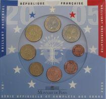 France BU.2005 Monnaie de Paris BU Set 2005