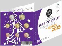 France BU.2015 Complete serial of Euro 2015 - BU