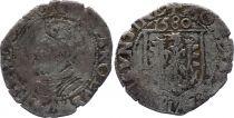 France Carolus - Franche Comté - Effigie de Charles Quint - 1580 - Besançon