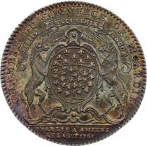 France Chambre de Commerce de Picardie - Louis XV - 1761