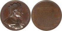 France Charles III dit le Simple  -  Série des rois de France par Caqué - 1839