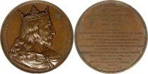 France Clotaire II  -  Série des rois de France par Caqué - 1840