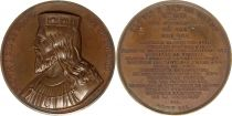 France Clovis I dit Le Grand  -  King of France serial by Caqué - 1840