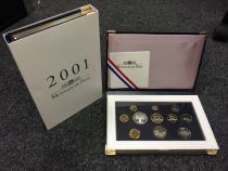 France Coffret BE 2001 - Monnaies en Francs