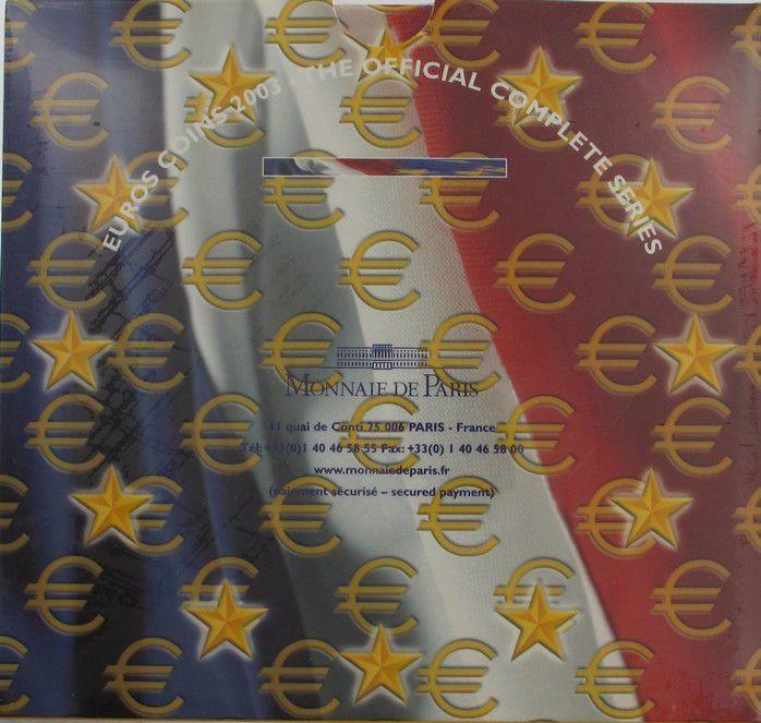 France Coffret BU 2003 Monnaie de Paris