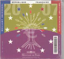 France Coffret BU 2007 - 8 Monnaies Euro