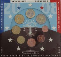 France Coffret BU 2008 Monnaie de Paris